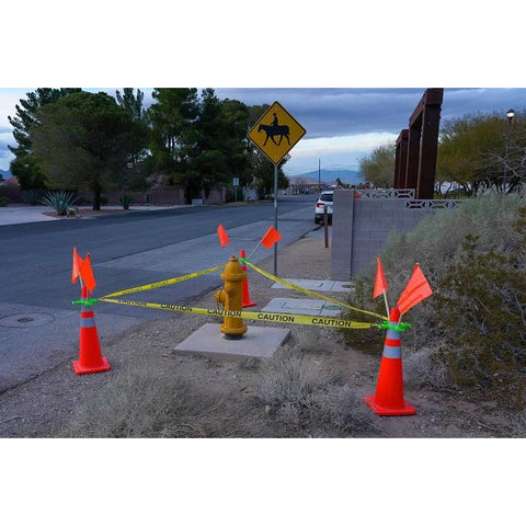 "High-Visibility Yellow Caution Tape (3"" x 3')"