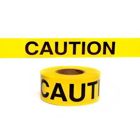 "Image of High-Visibility Yellow Caution Tape (3"" x 3')"