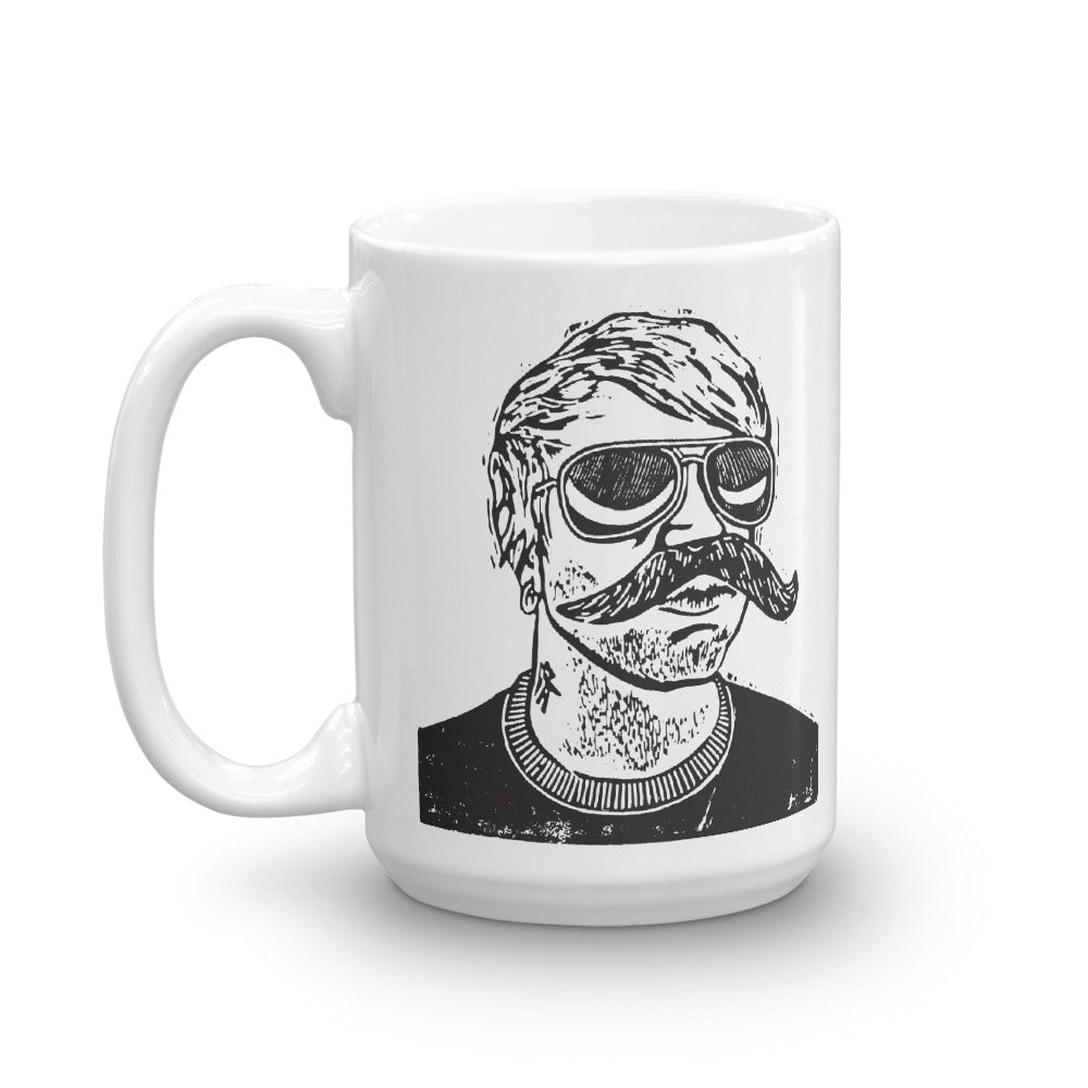 Mug Shot Coffee Cup
