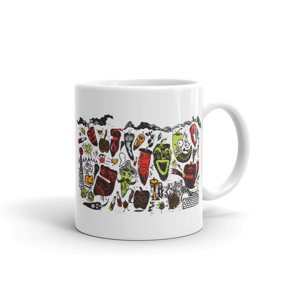 Pepper Party Coffee Cup