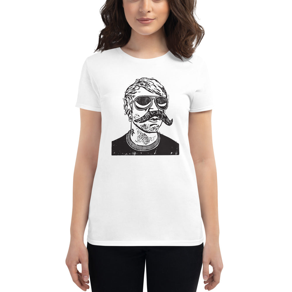Mug Shot Ladies t-shirt
