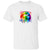 LGBTQ Flag Retro T Shirt