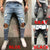 Zogaa Straight Leg Slim Fit Denim Pants