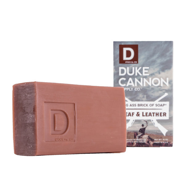 Big Ass Brick of Soap - Leaf and Leather 1