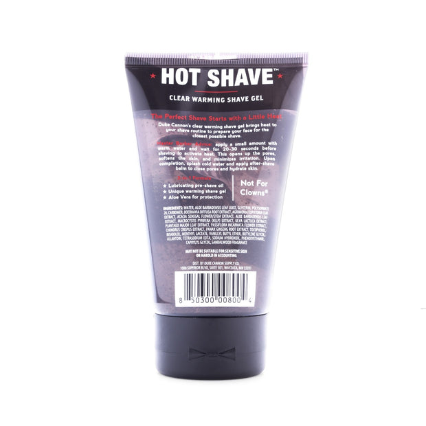 Hot Shave 1