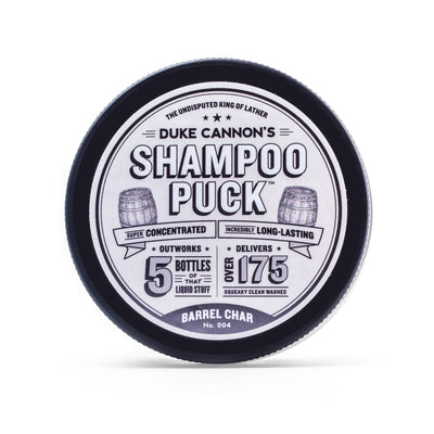 Shampoo Puck - Barrel Char