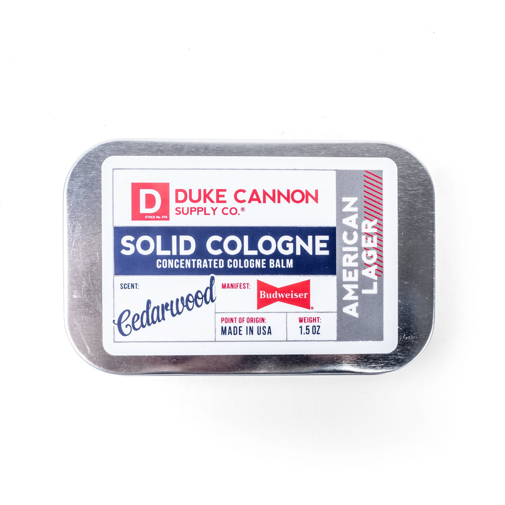 Solid Cologne - American Lager - Duke Cannon
