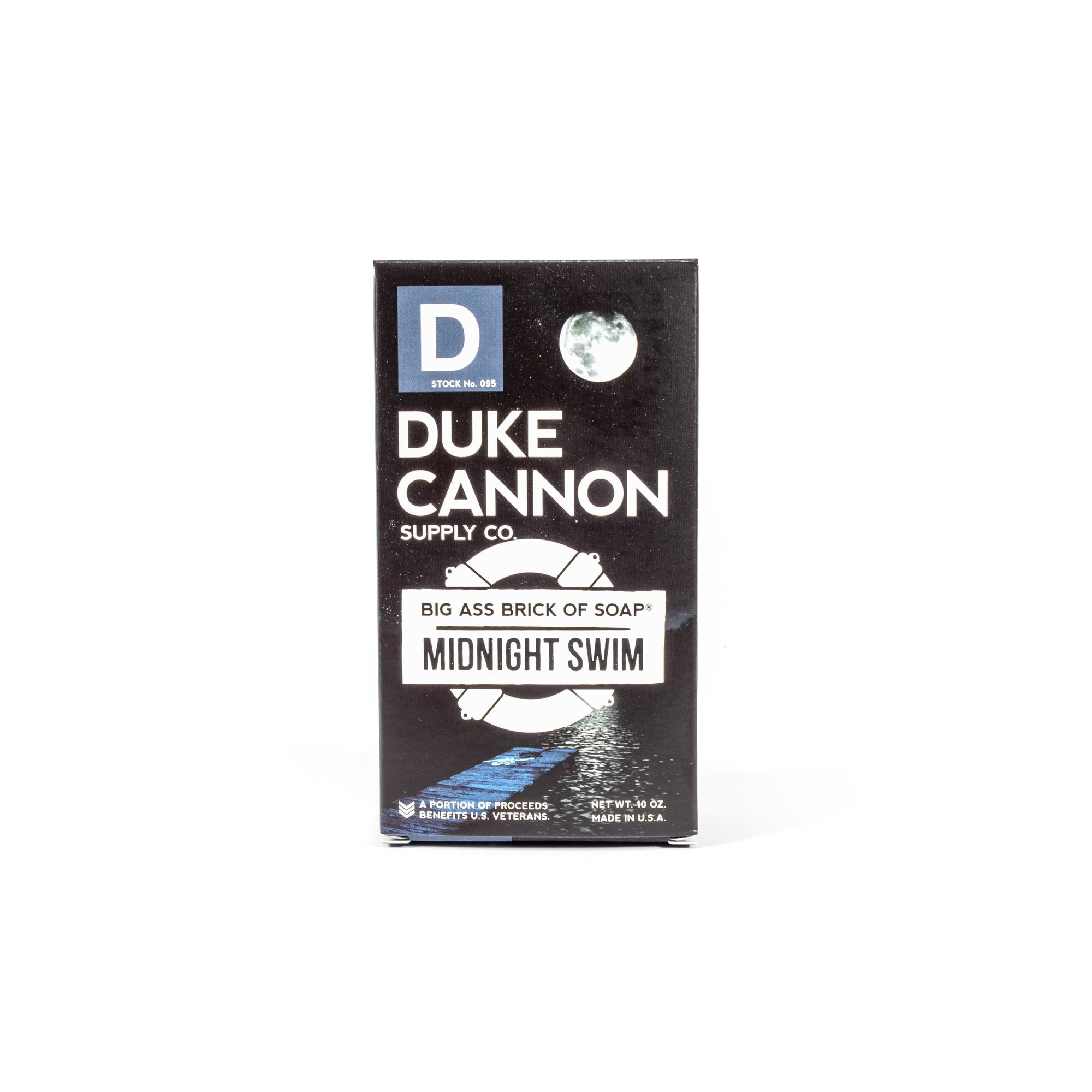 Big Ass Brick of Soap - Midnight Swim - Duke Cannon