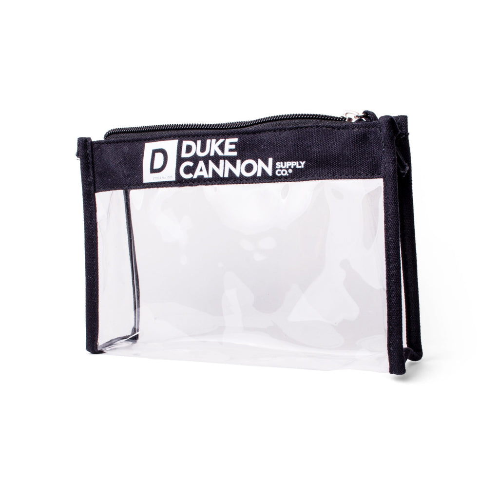 Duke Cannon Clear Travel Pouch (Empty)