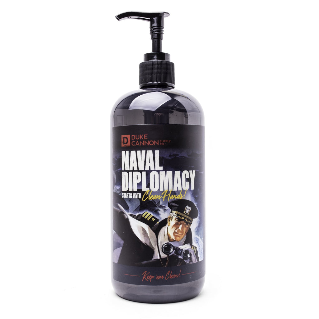 Liquid Hand Soap - Naval Diplomacy