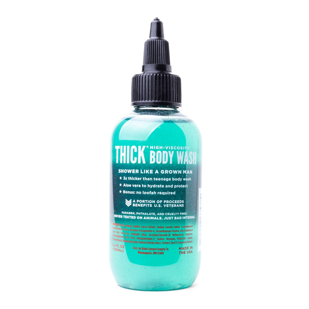 THICK Body Wash Travel Size - Naval Diplomacy 1