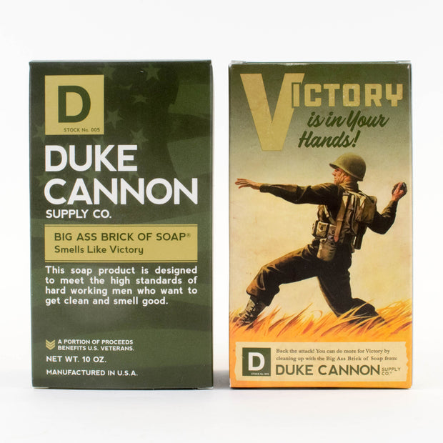 Limited Edition WWII-era Big Ass Brick of Soap - Victory 1