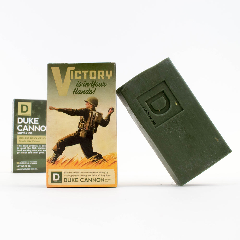 Limited Edition WWII-era Big Ass Brick of Soap - Victory