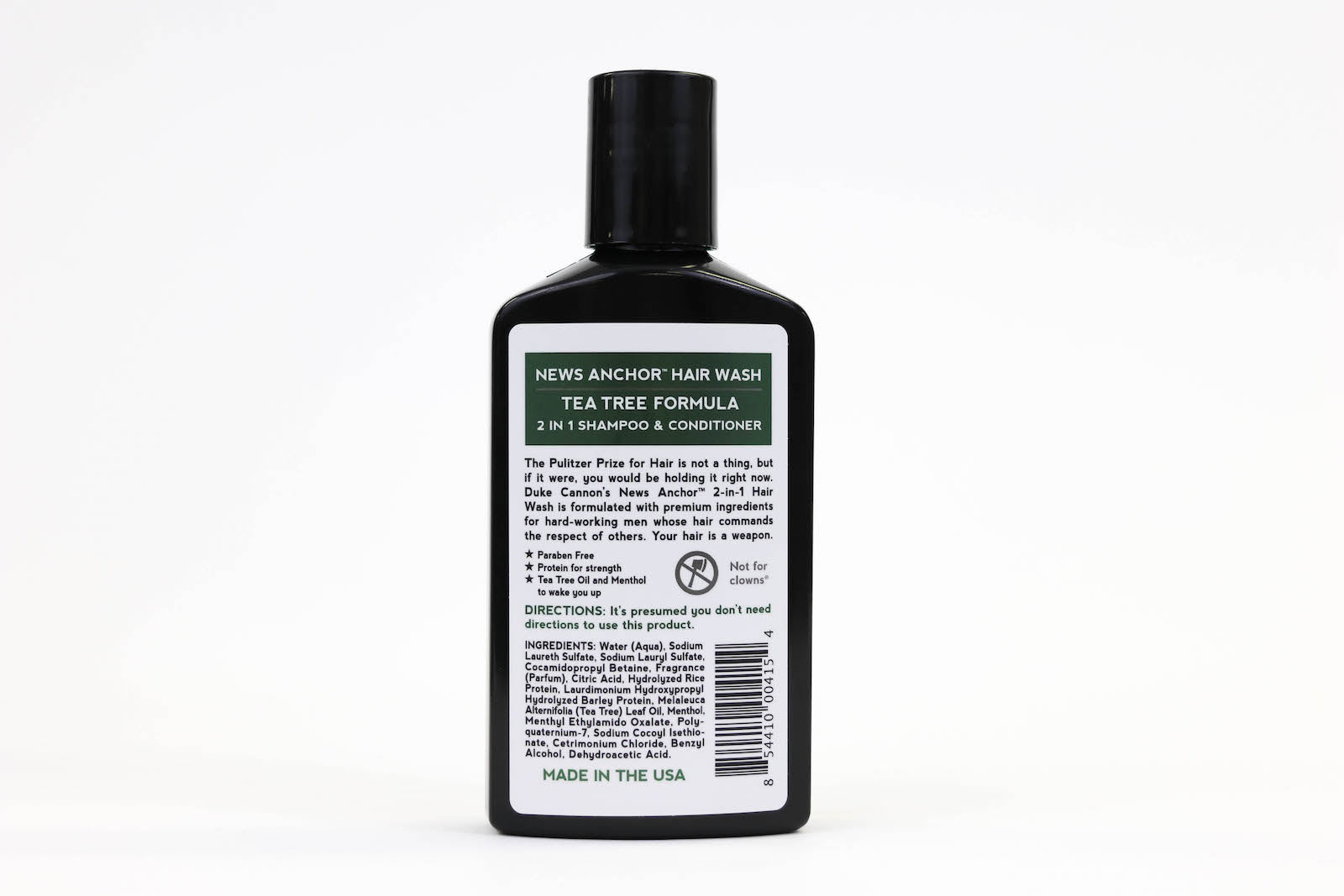 News Anchor 2-in-1 Hair Wash - Tea Tree Formula