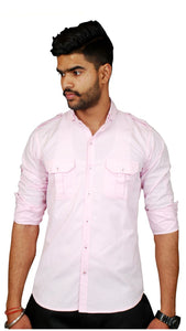 Light Pink Hunting Shirt