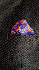 Printed Pocket Square 101