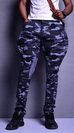 Grey Camouflage Breeches