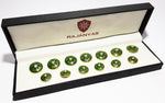 Designer Green Colour Buttons