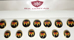 Black Majestic Elephant Sublimation Buttons