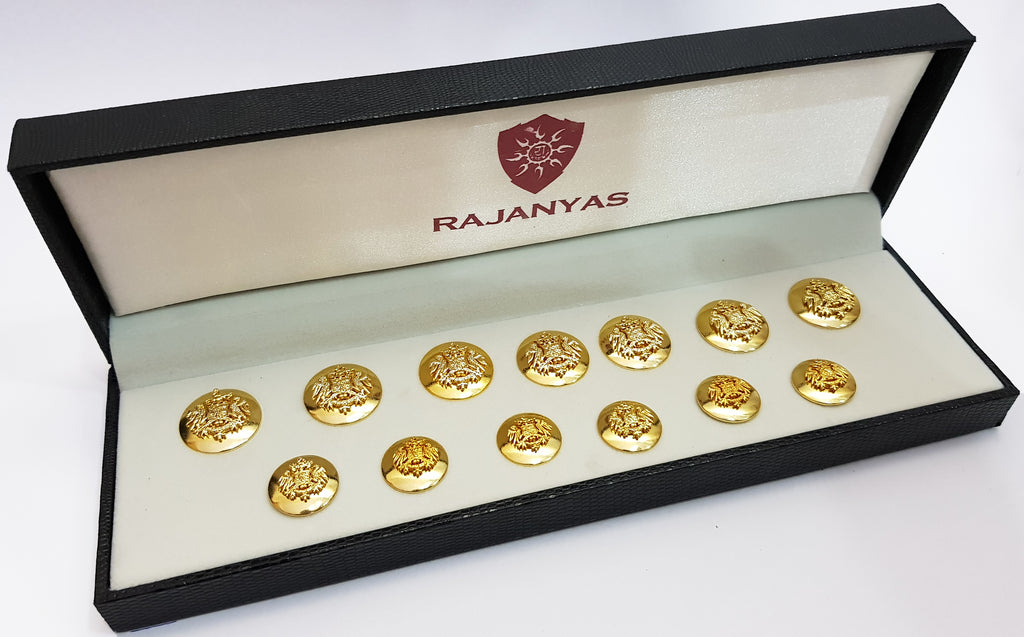 Golden Rathore Buttons