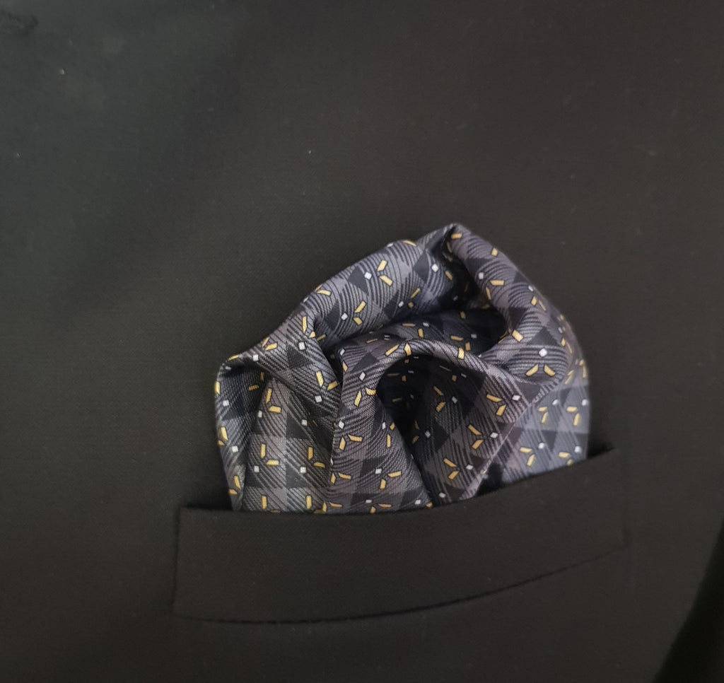 Printed Pocket Square 105