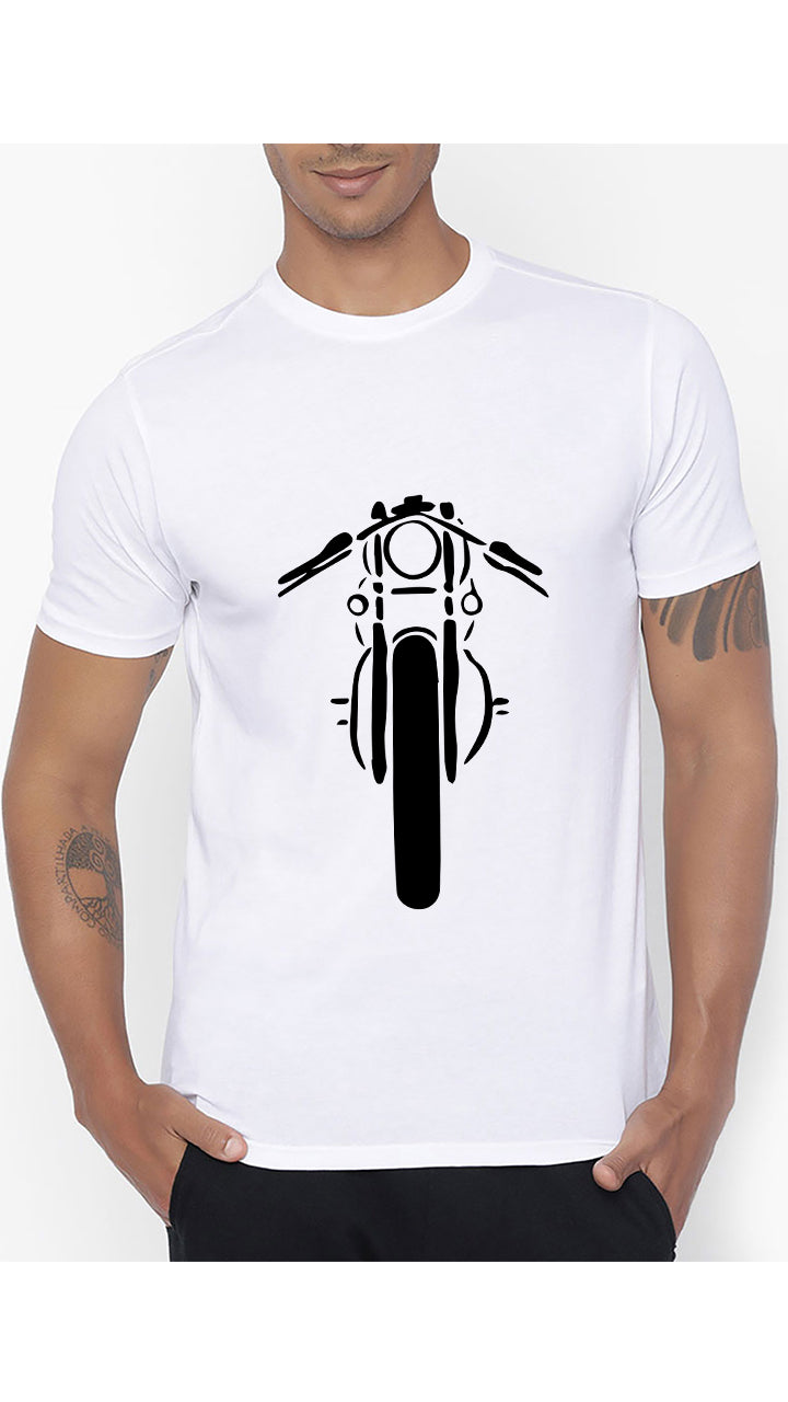 BIKE PRINTED T-SHIRT