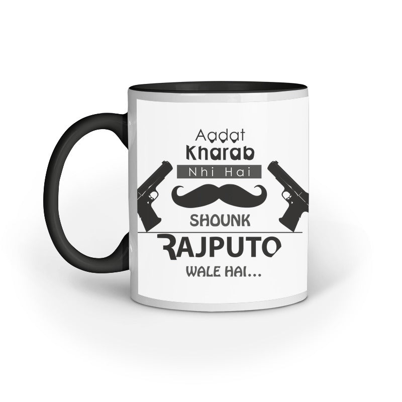 RAJPUTO KE SHOUNK COFFEE MUG