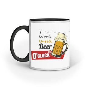 BEER O'CLOCK COFFEE MUG