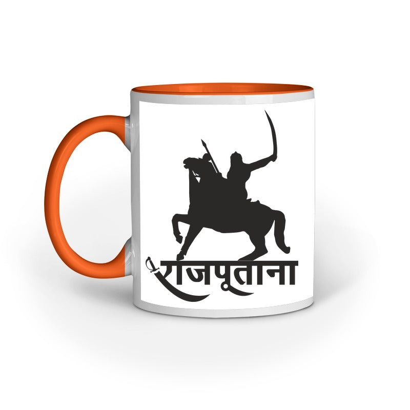RAJPUTANA KNIGHT COFFEE MUG