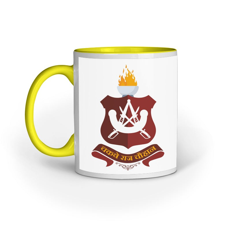 CHAUHAN CLAN LOGO COFFEE MUG