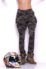 Military Camouflage Print Stretchable Breeches