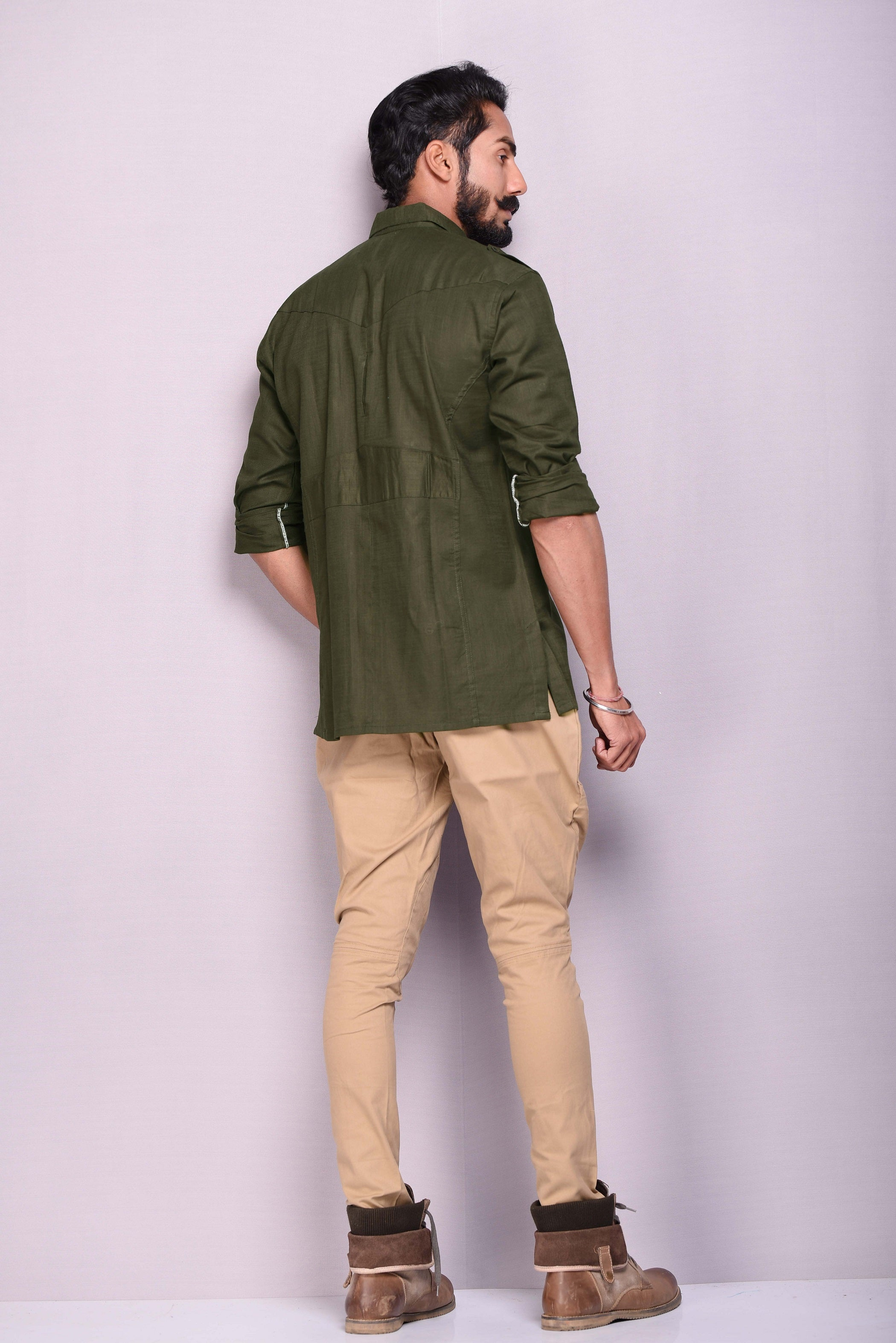 Pine Green Hunting Shirt