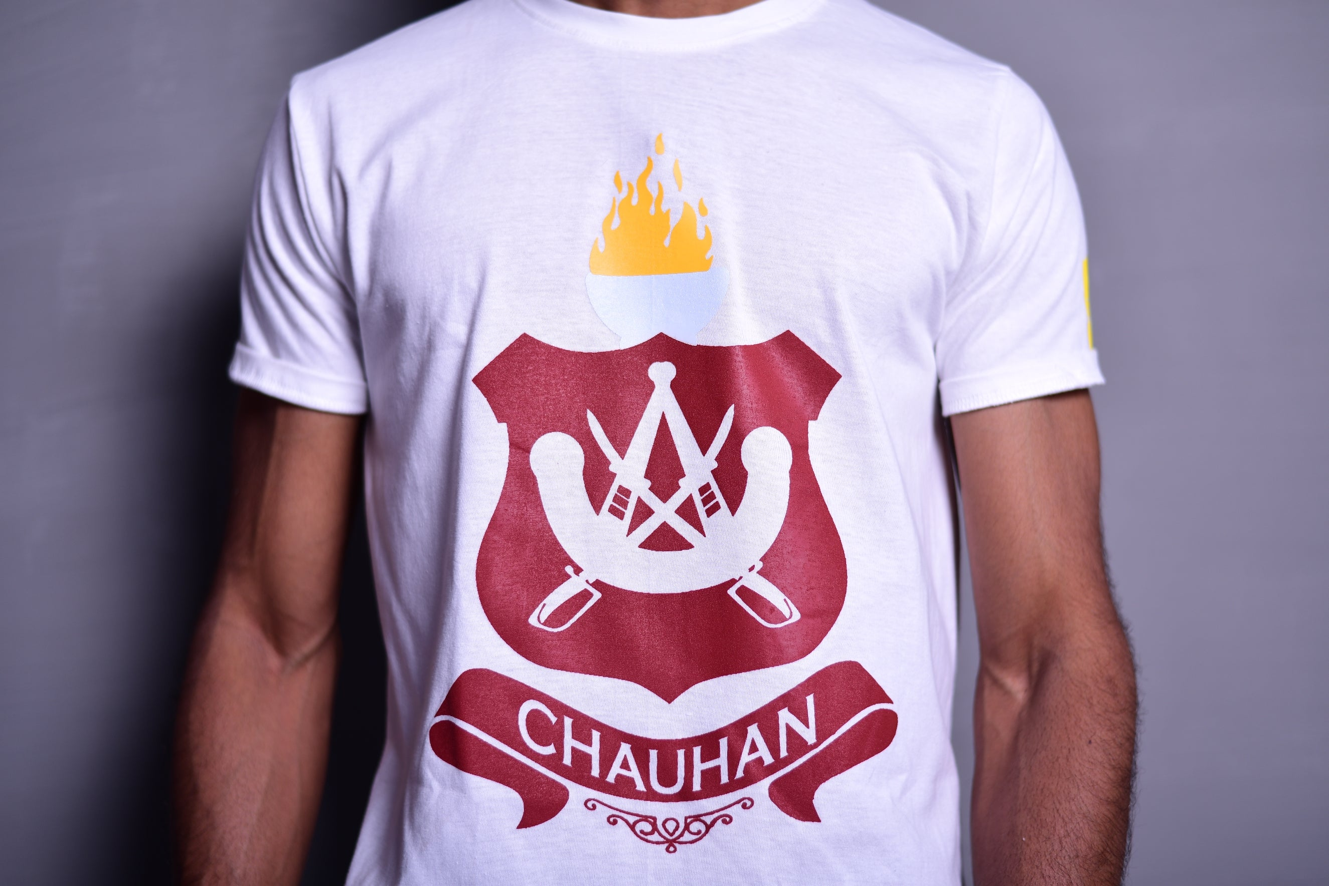 Chauhan Clan Round Neck T-shirt