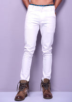 White Color Casual Trouser