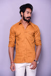 Mustard Colour Hunting Shirt