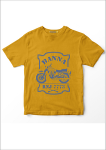 Om Banna Mustard color T-shirt