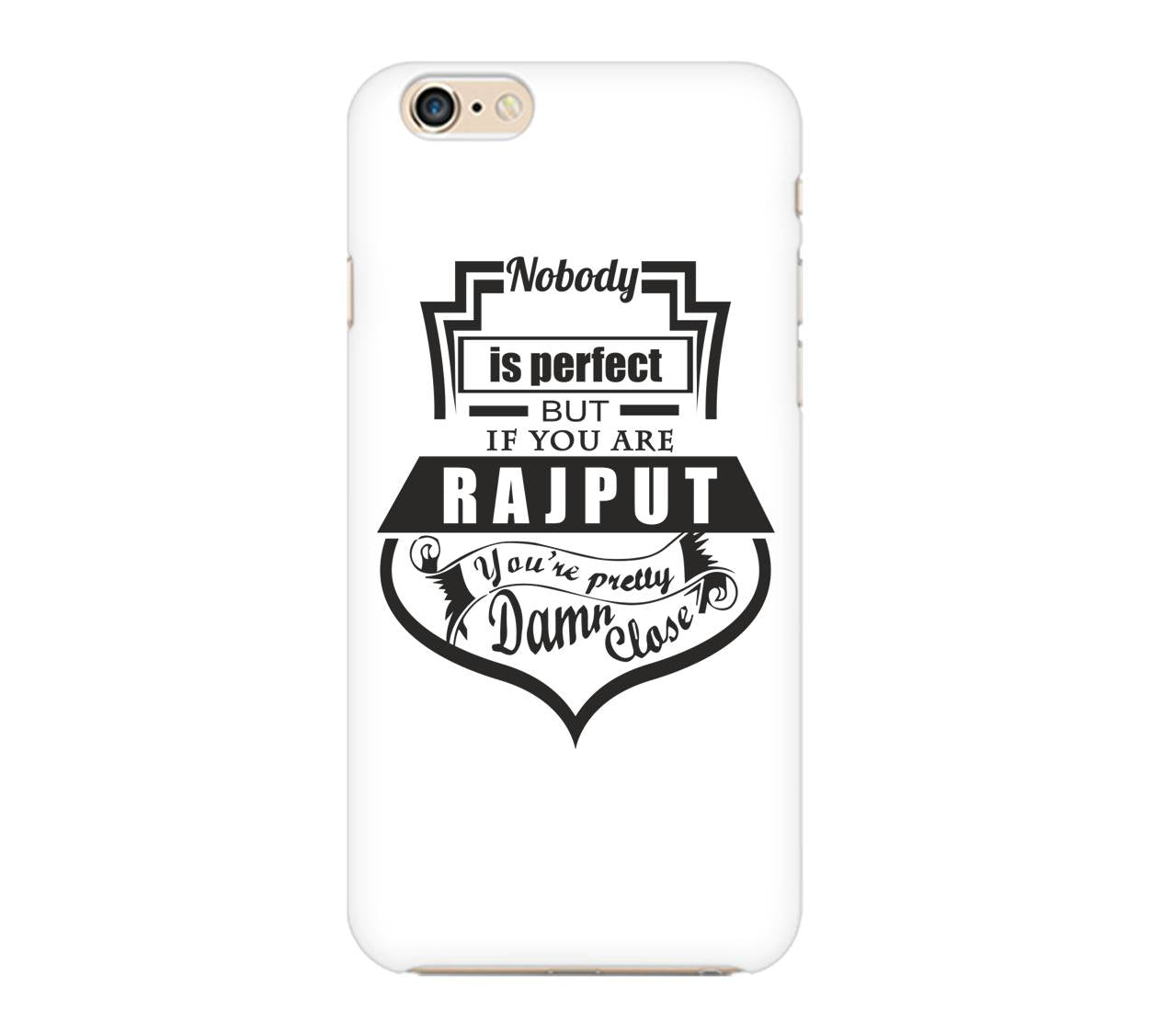 Nobody's Perfect Phone Cover