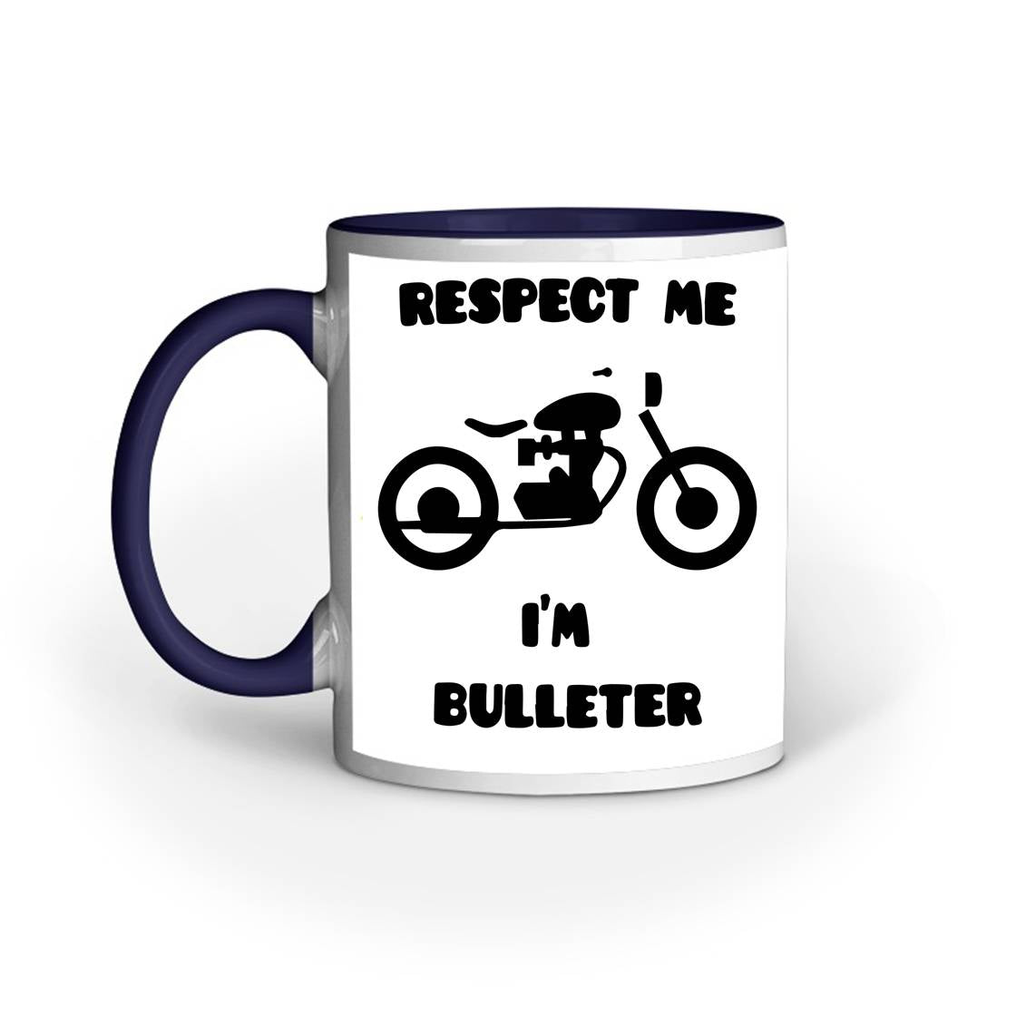 RESPECT BULLETER COFFEE MUG