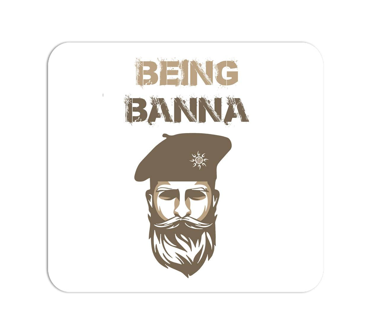 Being Banna Mouse Pad