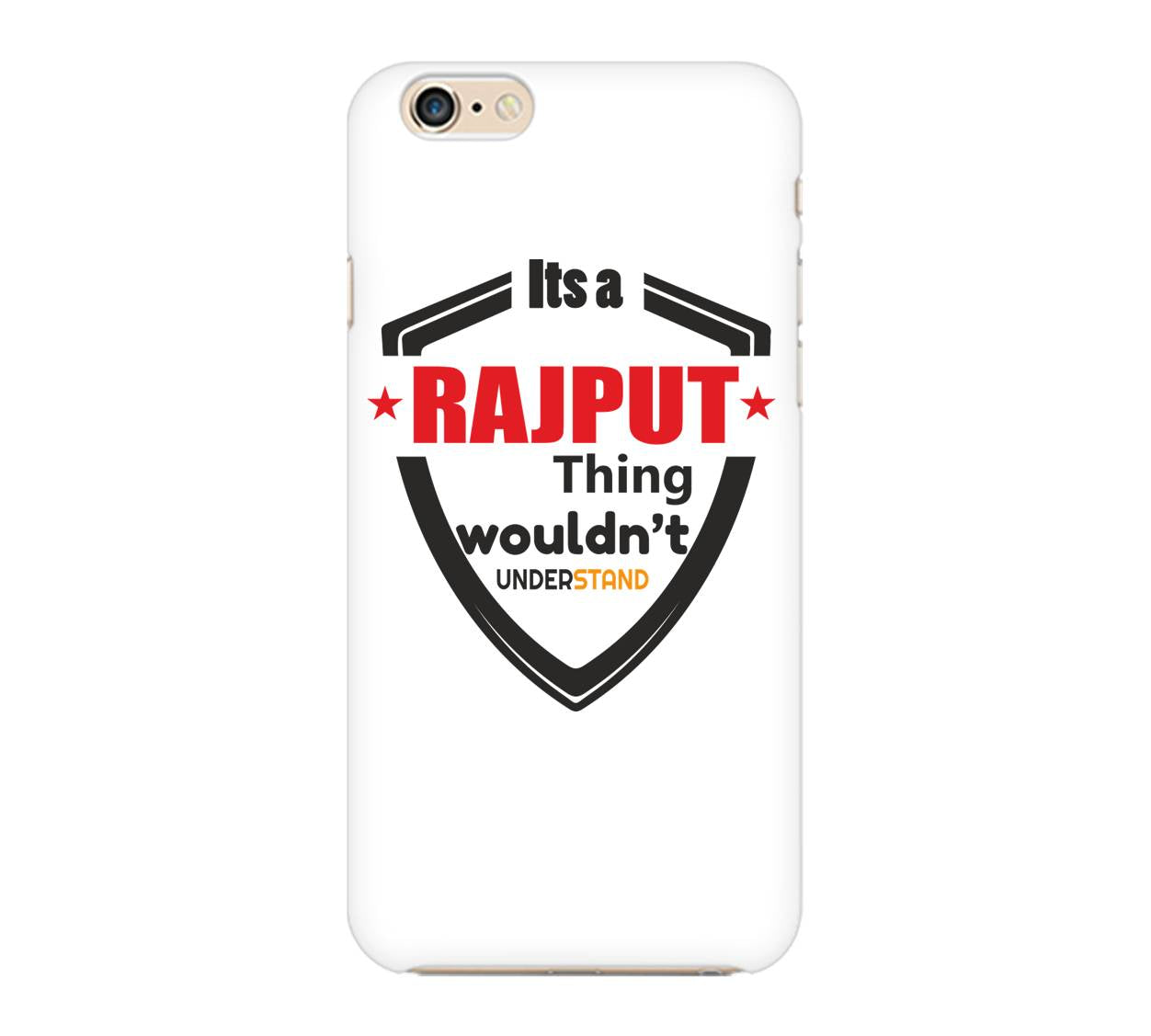 It's a Rajput Thing Phone Cover