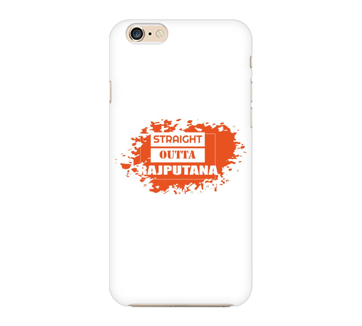 Straight Outta Rajputana Phone Cover