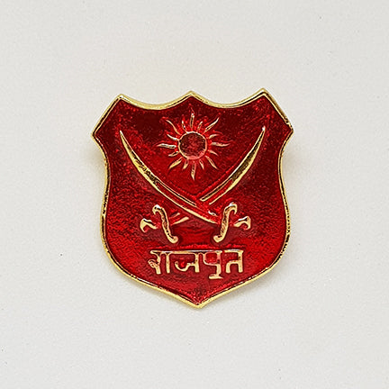 Rajput Monogram Red Meena