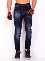 Sturdy Blue Denim Tapered Jeans