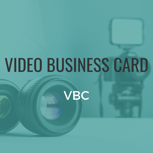 Video Business Card (VBC)