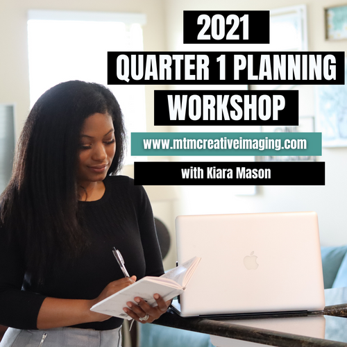 2021 QUARTER 1 - PLANNING WORKSHOP 12/7/2020 7PM EST