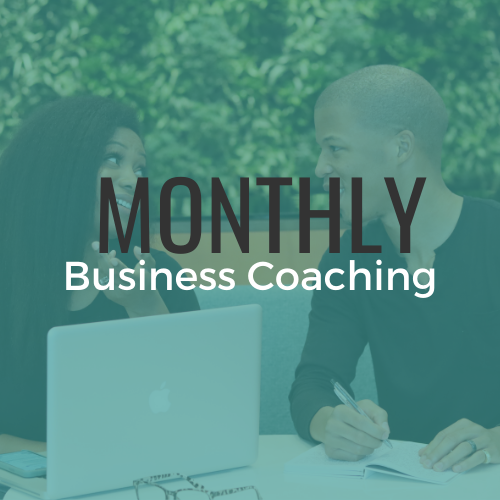 Monthly Business Coaching for Entrepreneurs