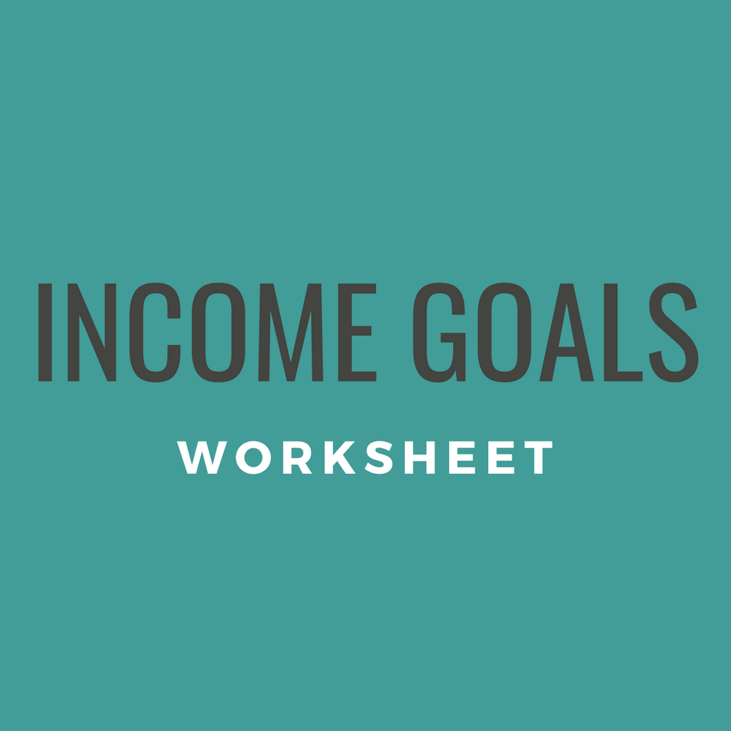 Financial Goal Planning Worksheet