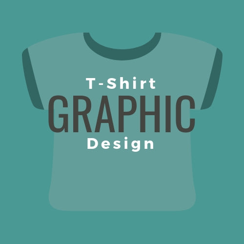 T-Shirt Graphic Design Mock-up