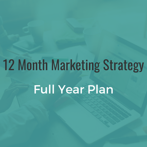 12 Month Marketing Strategy