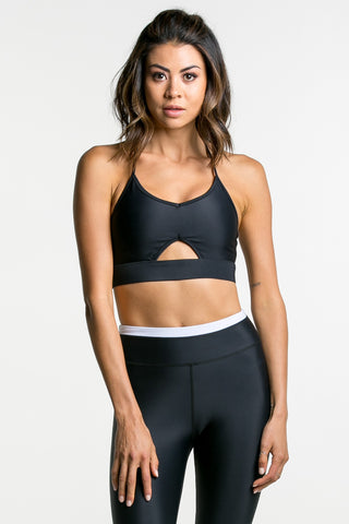 KIKI SPORTS BRA Black